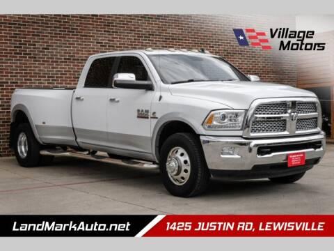 2015 RAM Ram Pickup 3500 for sale at Village Motors in Lewisville TX