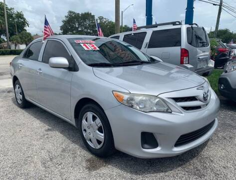 2013 Toyota Corolla for sale at AUTO PROVIDER in Fort Lauderdale FL