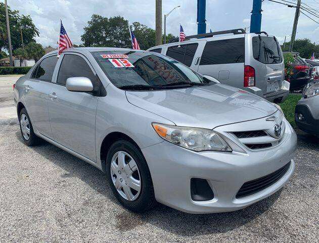 2013 Toyota Corolla for sale in Fort Lauderdale, FL