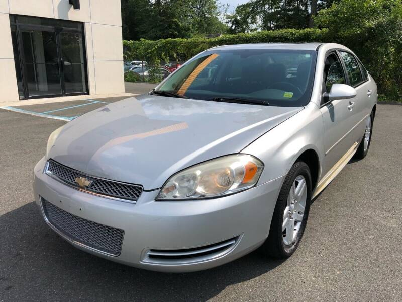 2012 Chevrolet Impala for sale at MAGIC AUTO SALES in Little Ferry NJ