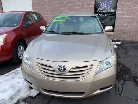 2007 Toyota Camry for sale at 924 Auto Corp in Sheppton PA