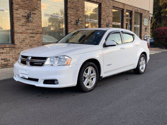 2013 Dodge Avenger for sale at The King of Credit in Clifton Park NY
