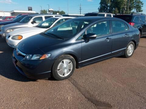 2008 Honda Civic for sale at L & J Motors in Mandan ND