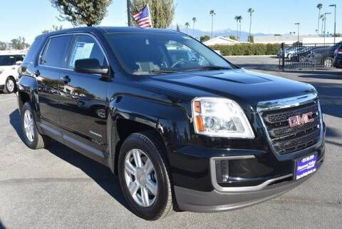 2016 GMC Terrain for sale at DIAMOND VALLEY HONDA in Hemet CA