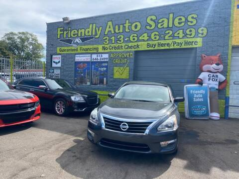 2013 Nissan Altima for sale at Friendly Auto Sales in Detroit MI