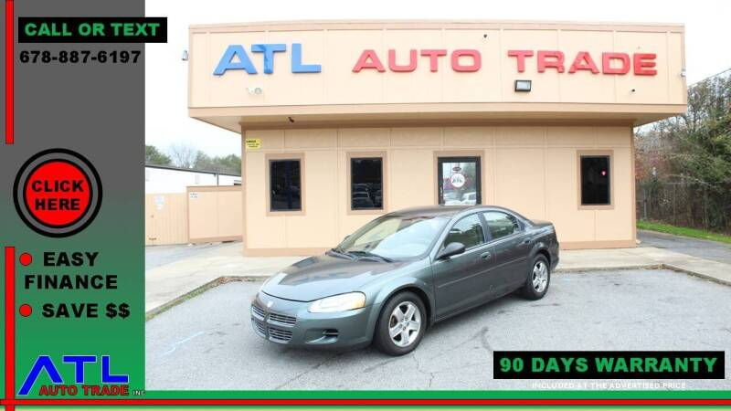 2002 Dodge Stratus for sale at ATL Auto Trade, Inc. in Stone Mountain GA