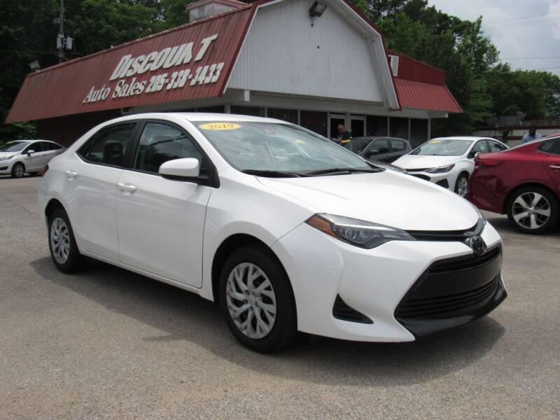 2019 Toyota Corolla for sale at Discount Auto Sales in Pell City AL