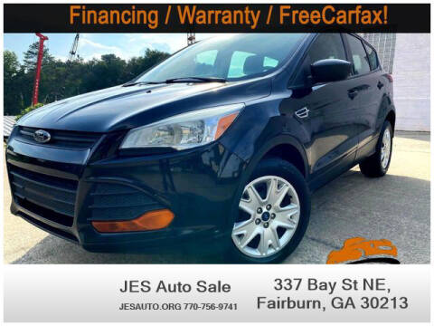 2013 Ford Escape for sale at JES Auto Sales LLC in Fairburn GA