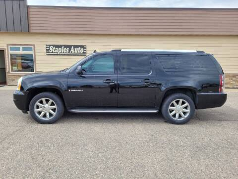 2007 GMC Yukon XL for sale at STAPLES AUTO SALES in Staples MN
