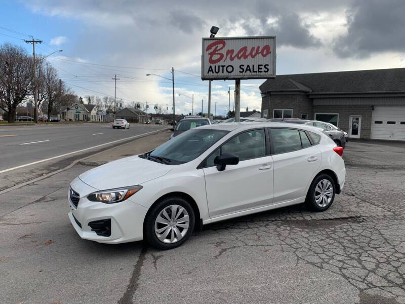 2017 Subaru Impreza for sale at Bravo Auto Sales in Whitesboro NY