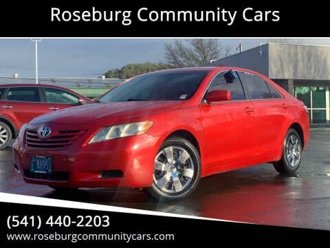 2009 Toyota Camry for sale at Roseburg Community Cars in Roseburg OR