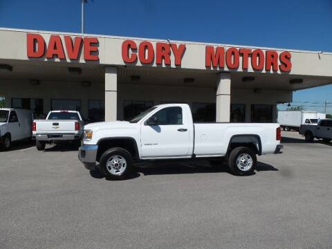 2018 GMC Sierra 2500HD for sale at DAVE CORY MOTORS in Houston TX