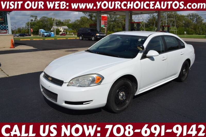 2011 Chevrolet Impala for sale at Your Choice Autos - Crestwood in Crestwood IL