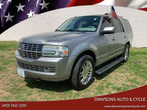 2008 Lincoln Navigator for sale at Dawsons Auto & Cycle in Glen Burnie MD