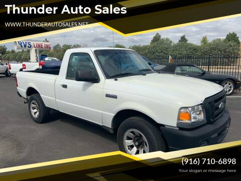 2009 Ford Ranger for sale at Thunder Auto Sales in Sacramento CA
