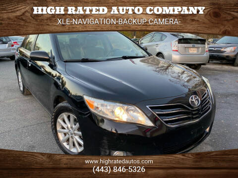 2011 Toyota Camry for sale at High Rated Auto Company in Abingdon MD