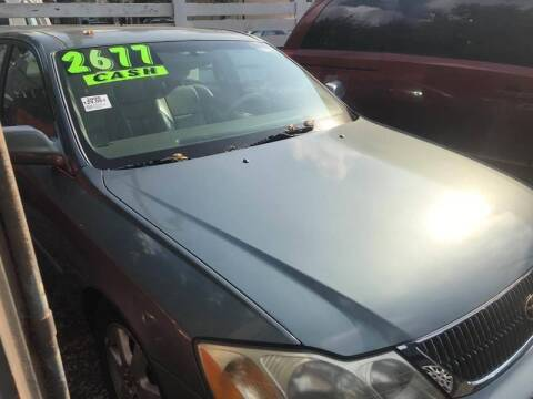 2000 Toyota Avalon for sale at Klein on Vine in Cincinnati OH