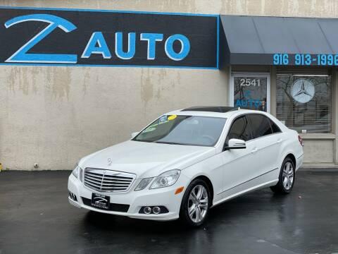 2011 Mercedes-Benz E-Class for sale at Z Auto in Sacramento CA