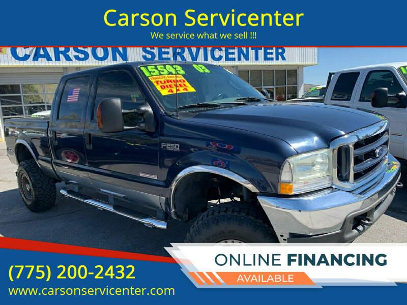 2003 Ford F-250 Super Duty for sale at Carson Servicenter in Carson City NV