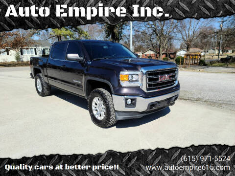 2015 GMC Sierra 1500 for sale at Auto Empire Inc. in Murfreesboro TN