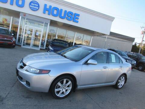 2005 Acura TSX for sale at Auto House Motors in Downers Grove IL