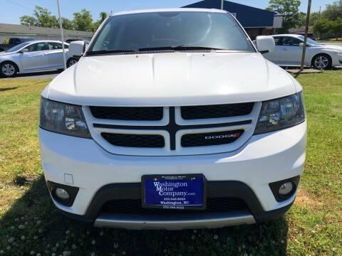 2015 Dodge Journey for sale at Washington Motor Company in Washington NC