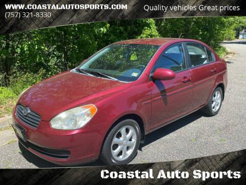 2008 Hyundai Accent for sale at Coastal Auto Sports in Chesapeake VA