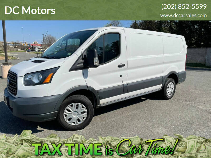 2015 Ford Transit Cargo for sale at DC Motors in Springfield VA