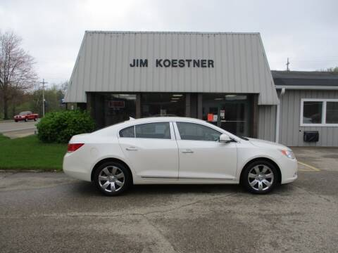 2010 Buick LaCrosse for sale at JIM KOESTNER INC in Plainwell MI