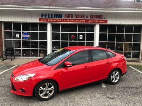 2014 Ford Focus for sale at Fellini Auto Sales & Service LLC in Pittsburgh PA