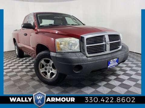 2007 Dodge Dakota for sale at Wally Armour Chrysler Dodge Jeep Ram in Alliance OH