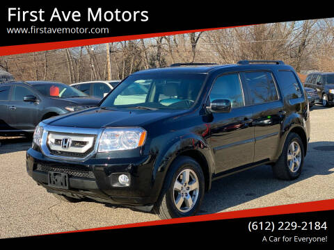2011 Honda Pilot for sale at First Ave Motors in Shakopee MN