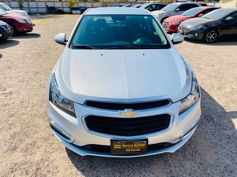 2016 Chevrolet Cruze Limited for sale at Good Auto Company LLC in Lubbock TX