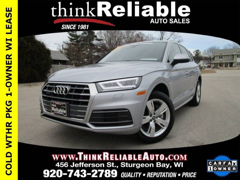 2018 Audi Q5 for sale at RELIABLE AUTOMOBILE SALES, INC in Sturgeon Bay WI