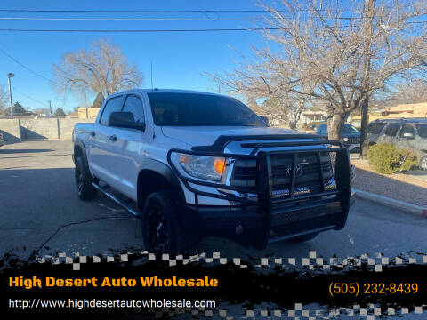 2014 Toyota Tundra for sale at High Desert Auto Wholesale in Albuquerque NM