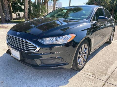 2017 Ford Fusion for sale at Florida Fine Cars - West Palm Beach in West Palm Beach FL