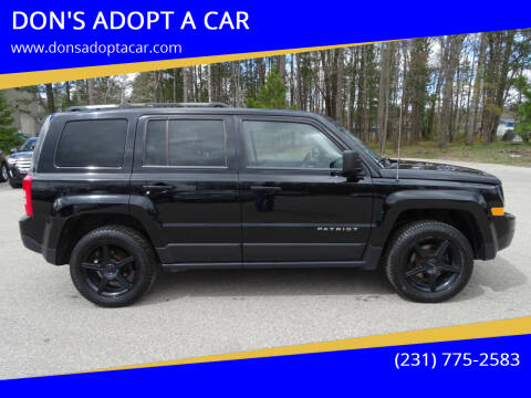 2014 Jeep Patriot for sale at DON'S ADOPT A CAR in Cadillac MI