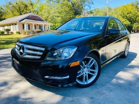 2012 Mercedes-Benz C-Class for sale at Cobb Luxury Cars in Marietta GA