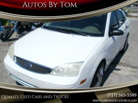 2007 Ford Focus for sale at Autos by Tom in Largo FL