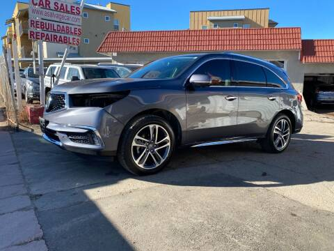 2017 Acura MDX for sale at STS Automotive in Denver CO