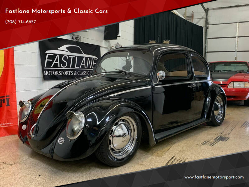 1964 Volkswagen Beetle for sale at Fastlane Motorsports & Classic Cars in Addison IL