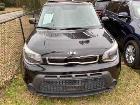 2015 Kia Soul for sale at J Franklin Auto Sales in Macon GA