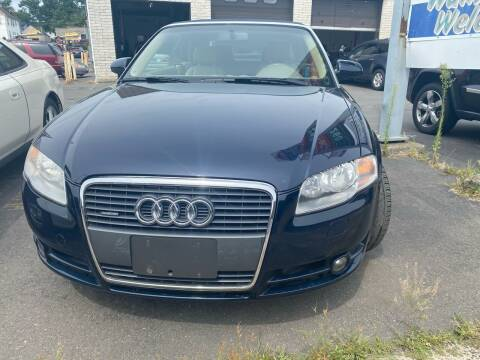 2007 Audi A4 for sale at Story Brothers Auto in New Britain CT
