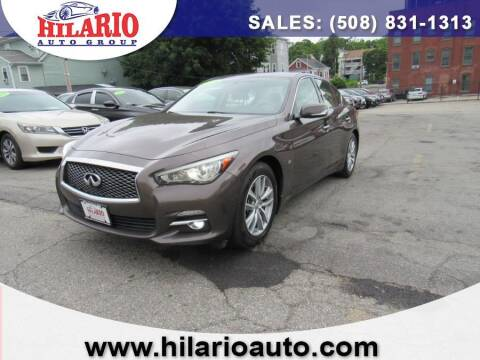 2014 Infiniti Q50 for sale at Hilario's Auto Sales in Worcester MA