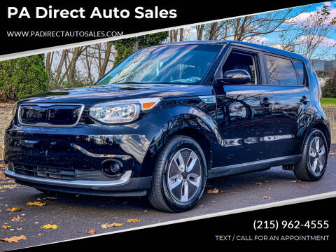 2017 Kia Soul EV for sale at PA Direct Auto Sales in Levittown PA