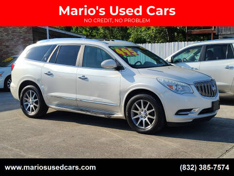 2014 Buick Enclave for sale at Mario's Used Cars - South Houston Location in South Houston TX