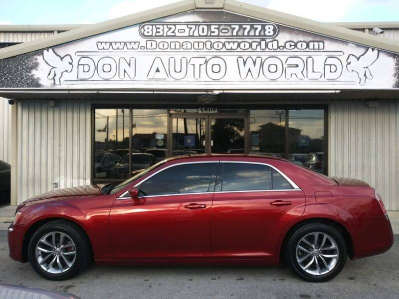 2013 Chrysler 300 for sale at Don Auto World in Houston TX