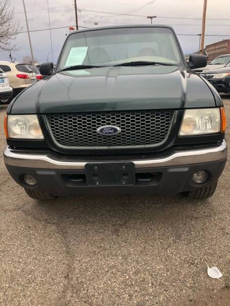2002 Ford Ranger for sale at Martinez Cars, Inc. in Lakewood CO