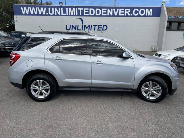 2016 Chevrolet Equinox for sale at Unlimited Auto Sales in Denver CO