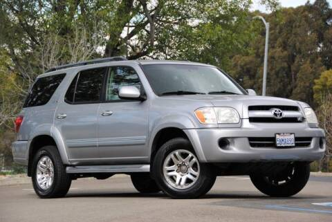 2005 Toyota Sequoia for sale at VSTAR in Walnut Creek CA